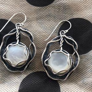 Grace and Heart .925 Sterling Silver Earrings